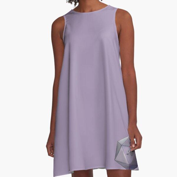 Amethyst D20 A-Line Dress