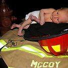 Daddy's a firefighter by Erica Sprouse