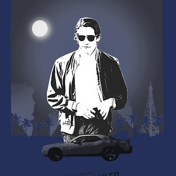 Nightcrawler poster by nostalgicboy