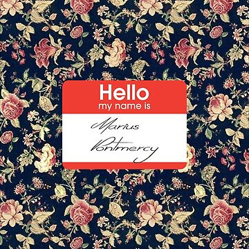 My Name is Marius Pontmercy by triinamariia