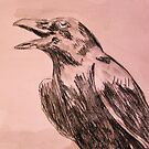The ravens call 2 minute sketch by leunig