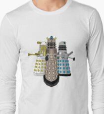 Evolution Of The Daleks Long Sleeve T-Shirt