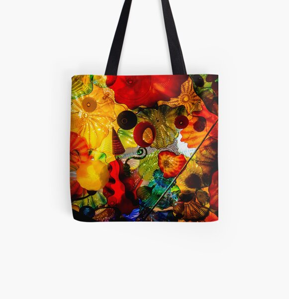 Chihuly Glass Garden All Over Print Tote Bag