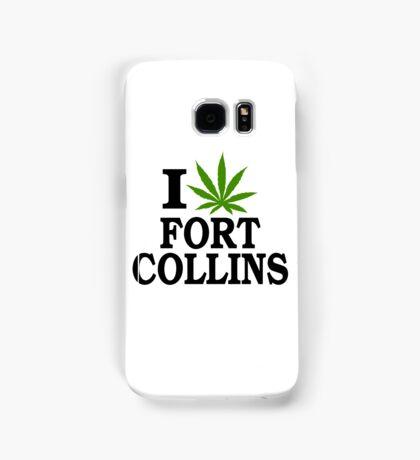 I Love Marijuana Fort Collins Colorado Samsung Galaxy Case/Skin