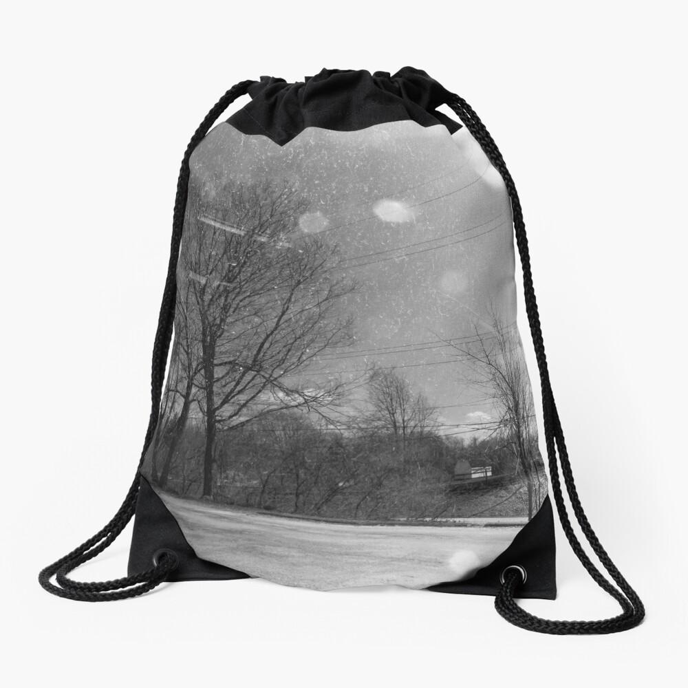 Rural Distortion Drawstring Bag
