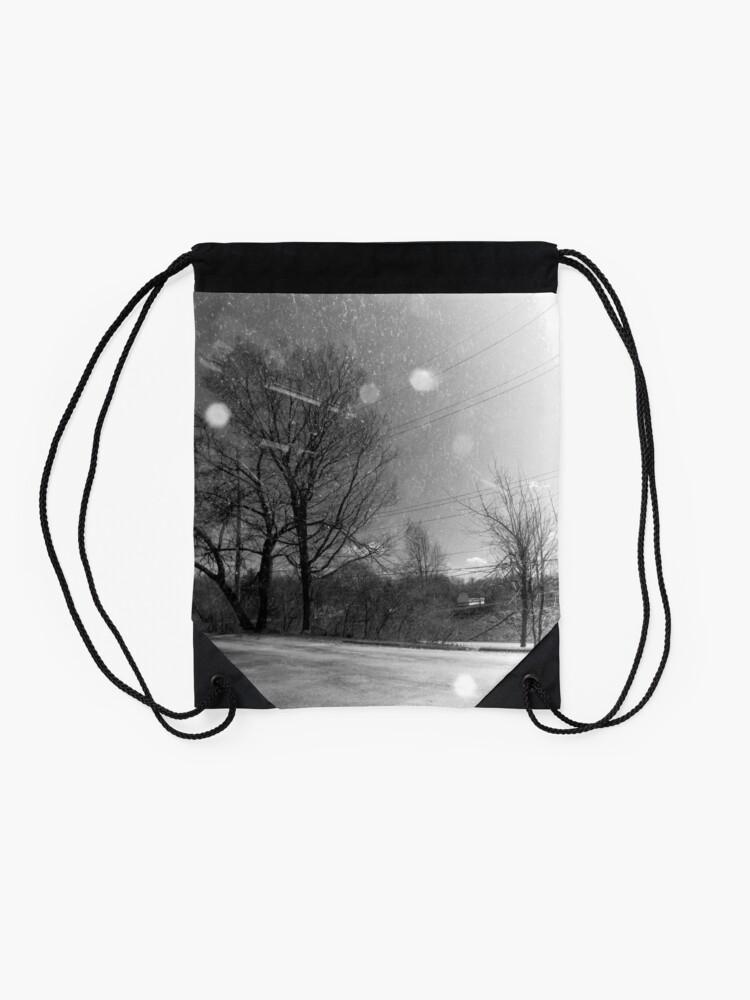 Alternate view of Rural Distortion Drawstring Bag
