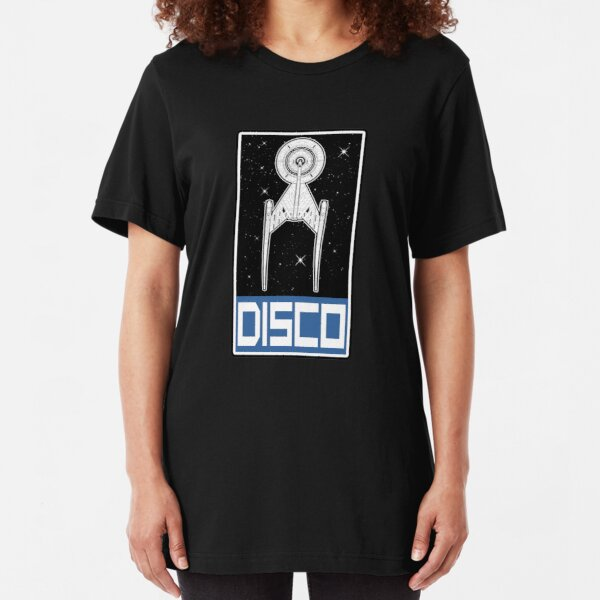 Disco Blue Slim Fit T-Shirt