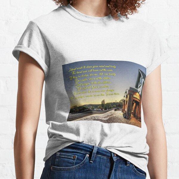 Tucson Train Lyric Tribute 1 Bruce Springsteen. Western Stars Classic T-Shirt
