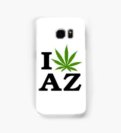 I Love Arizona Marijuana Cannabis Weed  Samsung Galaxy Case/Skin