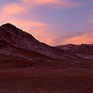 Desert - when the sun goes down by Constanza Caiceo