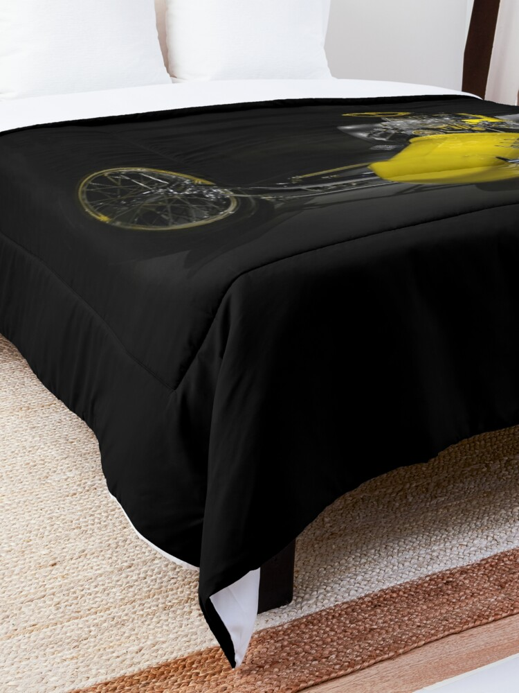 Alternate view of Greer-Black-Prudhomme Top Fuel Dragster Comforter
