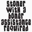 Stoner by MarijuanaTshirt