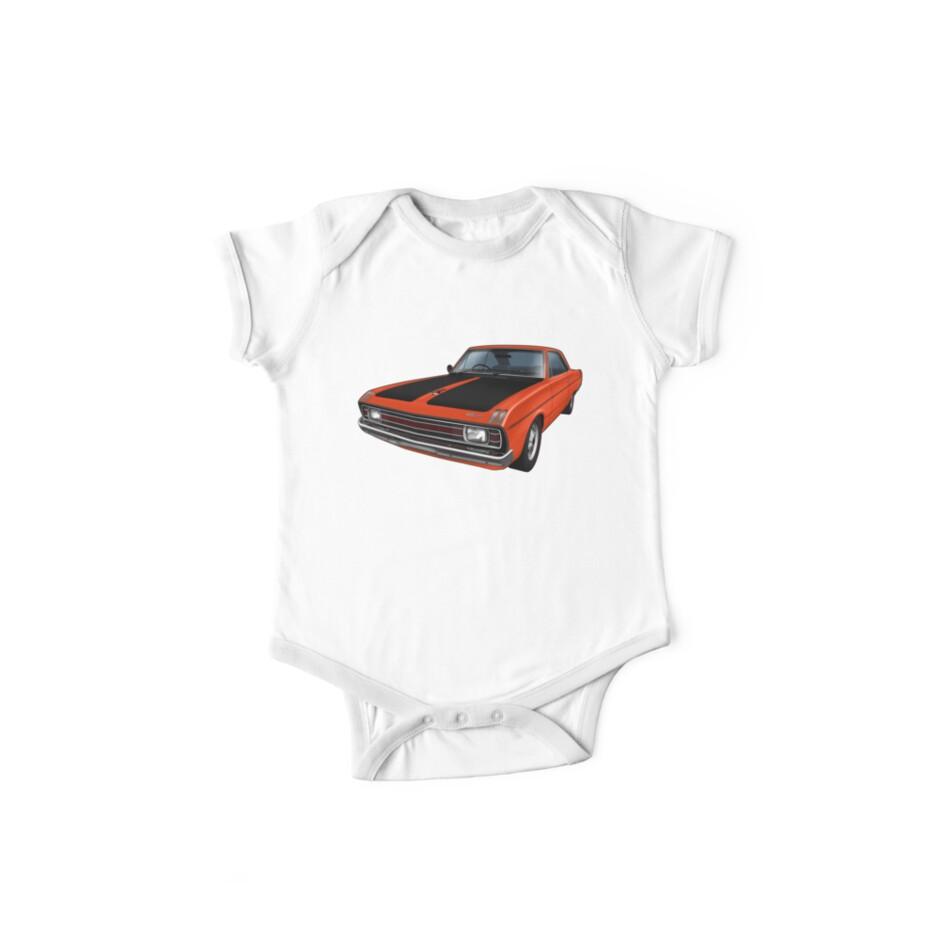 Chrysler Valiant VG Pacer Coupe - Hemi Orange by tshirtgarage