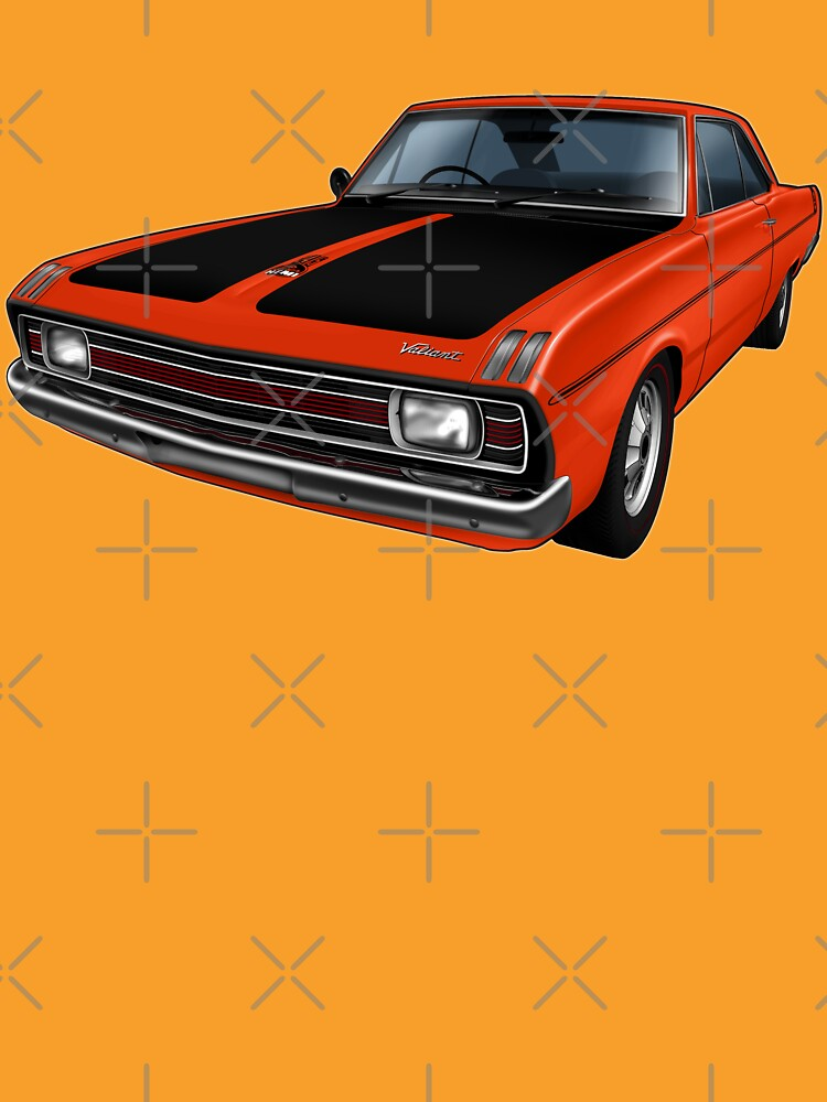 Chrysler Valiant VG Pacer Coupe - Hemi Orange by tshirtgarage