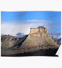 Mesa near Kodachrome Basin Poster