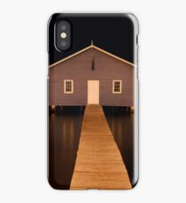 little boatshed on the river iPhone Case