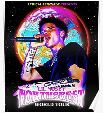 lil mosey best northbest tour 2019 2020 korban Poster