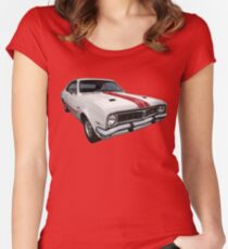 Australian Muscle Car - HT Monaro Women's Fitted Scoop T-Shirt