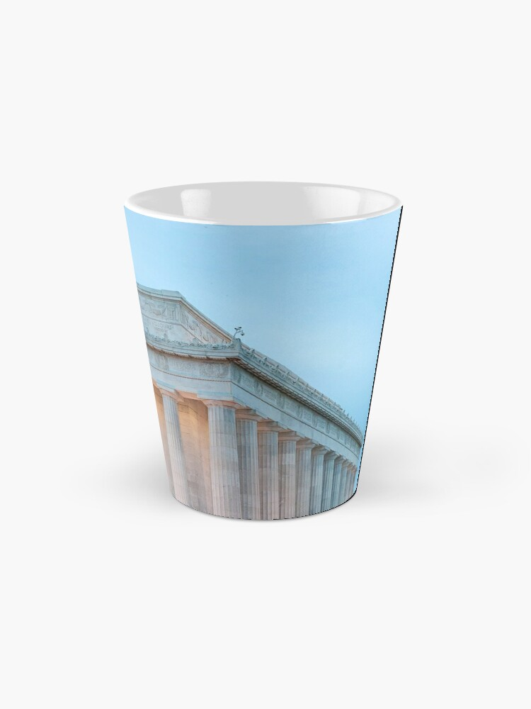 Alternate view of Lincoln Memorial II Mug