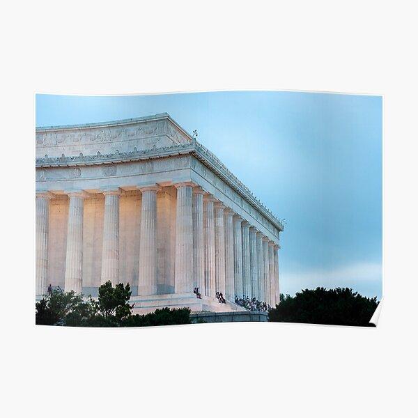 Lincoln Memorial II Poster