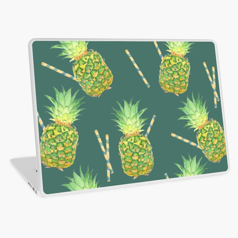 pineapple juice Laptop Skin