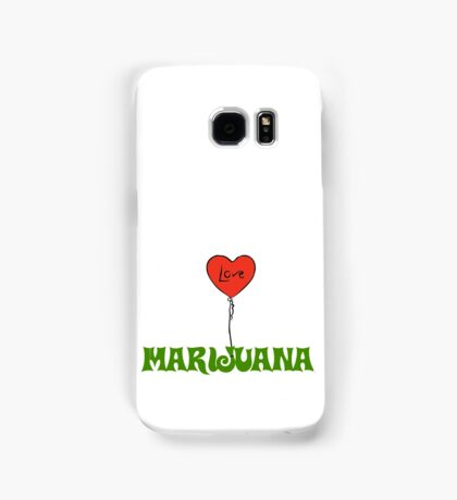 I Love Marijuana Samsung Galaxy Case/Skin