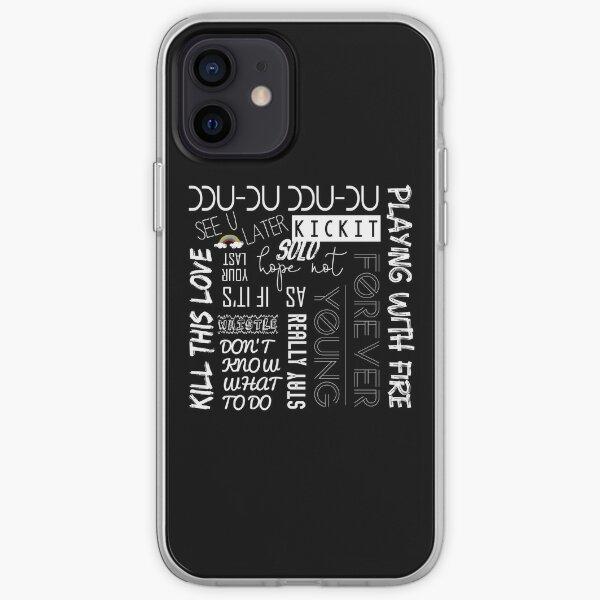 BLACKPINK SONGS Coque souple iPhone