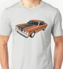 Ford Falcon XY GT - Nugget Gold Unisex T-Shirt