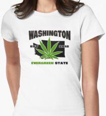 Washington Marijuana Cannabis Weed  T-Shirt