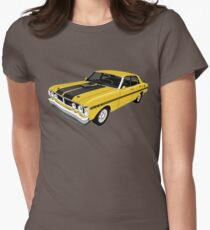 Ford Falcon XY GT - Yellow Women's Fitted T-Shirt