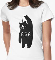 Black Bear Metal Fitted T-Shirt