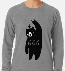 Black Bear Metal Lightweight Sweatshirt