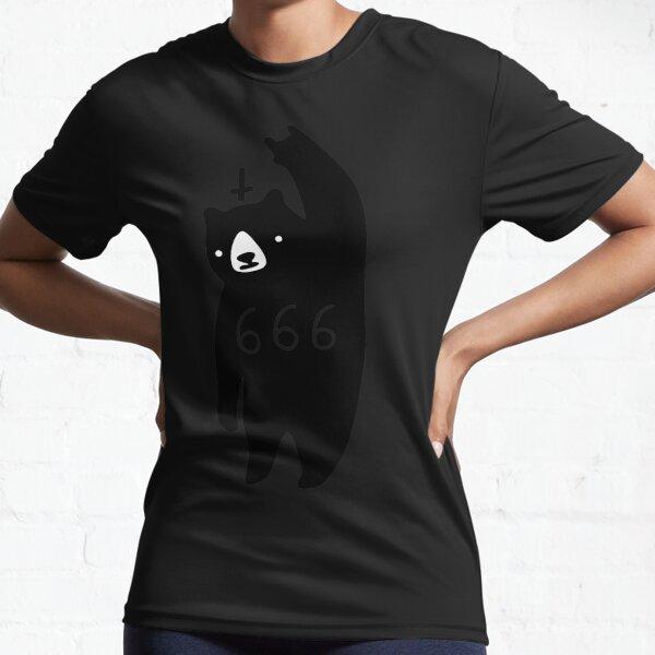 Black Bear Metal Active T-Shirt