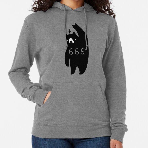 Black Bear Metal Lightweight Hoodie