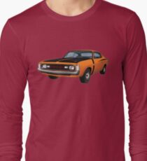 Chrysler Valiant VH Charger - Orange Long Sleeve T-Shirt