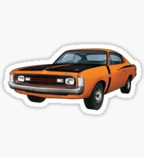 Chrysler Valiant VH Charger - Orange Sticker