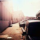 Street in the sunshine by Mattias Olsson