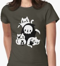 Deaths Little Helpers Womens Fitted T-Shirt