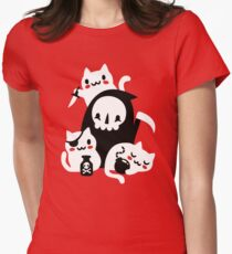 Deaths Little Helpers Women's Fitted T-Shirt