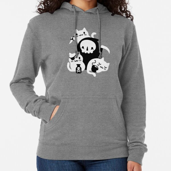 Deaths Little Helpers Lightweight Hoodie