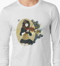 Violin Enamor Long Sleeve T-Shirt