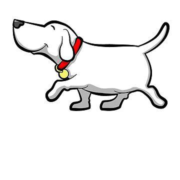 Happy Dog by davidicon