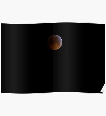 Full! Lunar Eclipse on the Winter Solstice - 2010 Poster