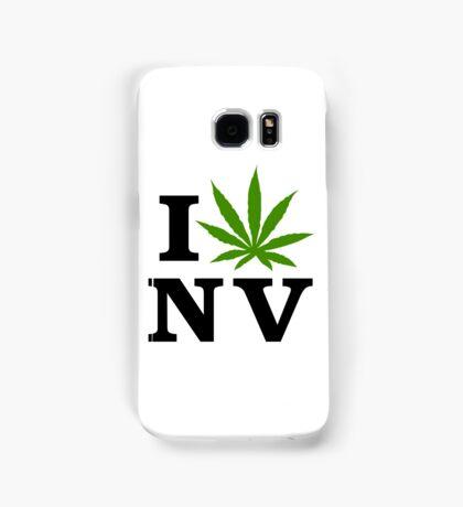 I Love Nevada Marijuana Cannabis Weed  Samsung Galaxy Case/Skin