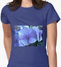 Blue Lacecap Hydrangea Macro T-Shirt