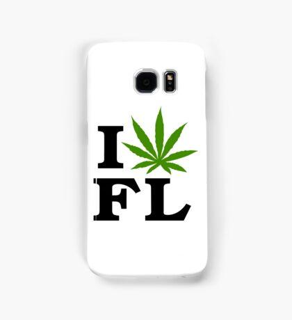 I Love Florida Marijuana Cannabis Weed  Samsung Galaxy Case/Skin