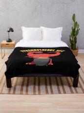 Tyrannosaurus Hex Throw Blanket