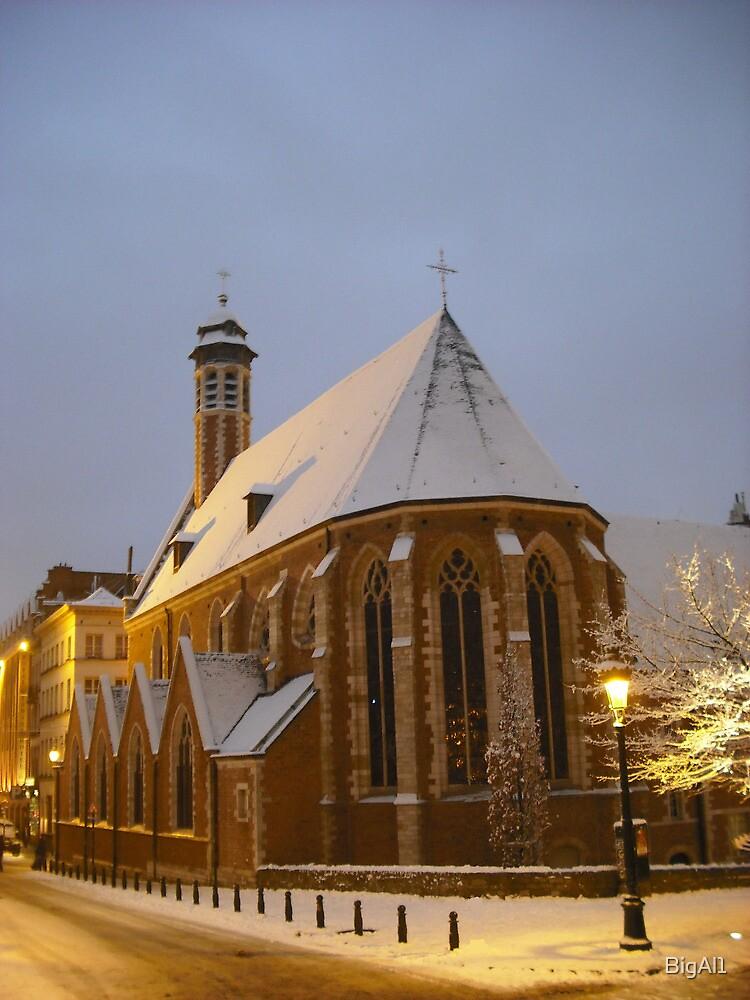 Chapelle de la Madeleine by BigAl1