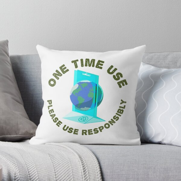 One Time Use Throw Pillow