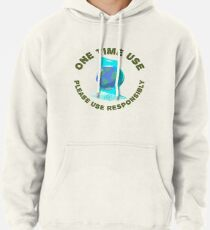 One Time Use Pullover Hoodie